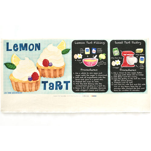 Lemon Tart - Linen + Cotton [1yd]
