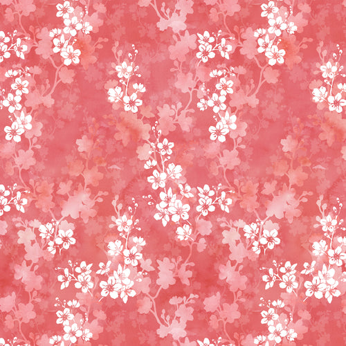 Cherry Blossom in Deep - Quilting Cotton [1yd]