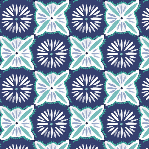 Daisy Tile - Quilting Cotton [1yd]