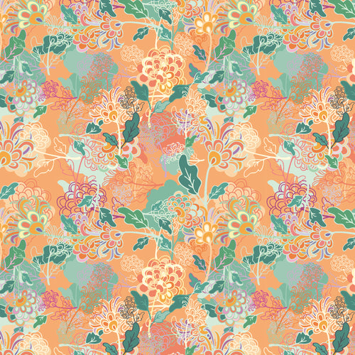 Spring Day Flowers - Quilting Cotton [1yd]