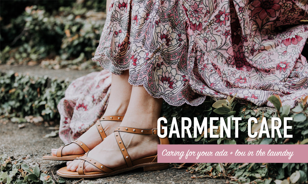 Garment care: The best tips and tricks for caring for your ada + lou treasures in the laundry