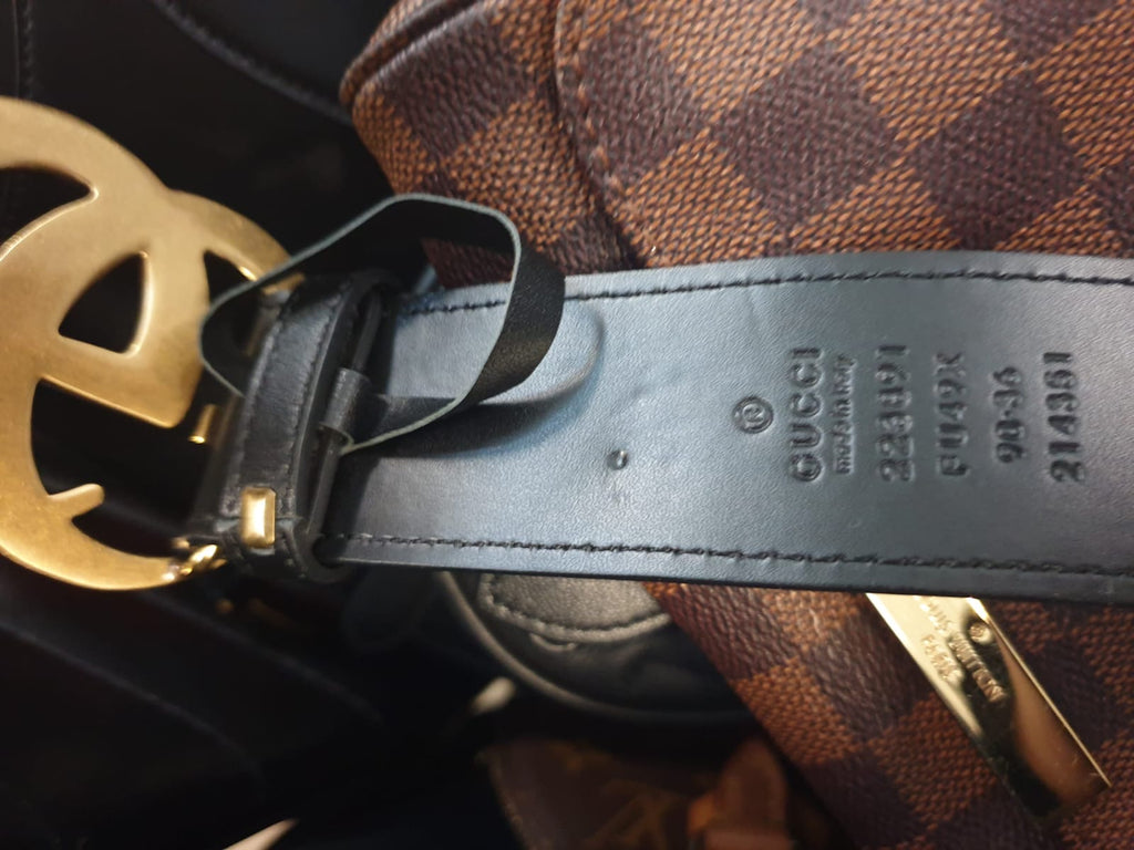 PRE-OWNED GUCCI BELT - Boss Ladies