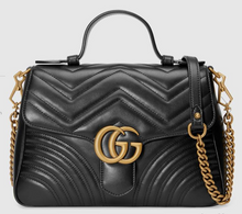 Load image into Gallery viewer, GUCCI MARMONT S TOP HANDLE