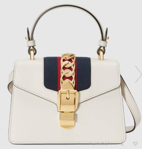 PRE-OWNED GUCCI LEATHER SYLVIE MINI BAG - Boss Ladies