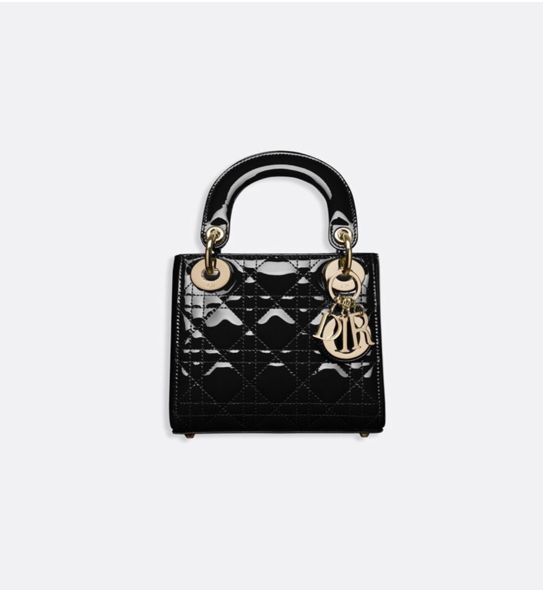 DIOR MINI LADY CALFSKIN BAG