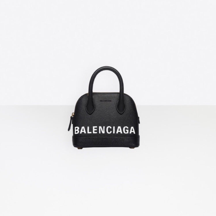 BALENCIAGA VILLE TOP HANDLE XXS - Boss Ladies