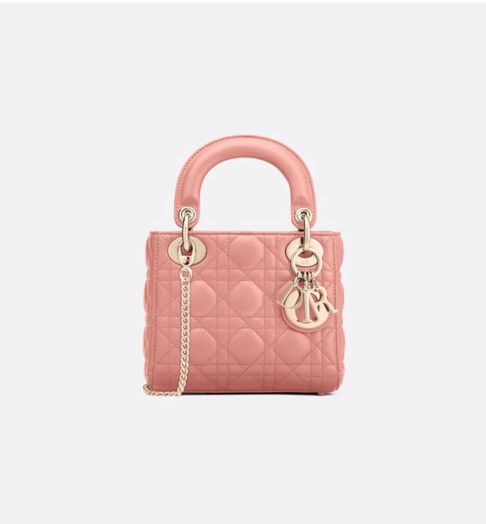 DIOR MINI LADY LAMBSKIN BAG - Boss Ladies