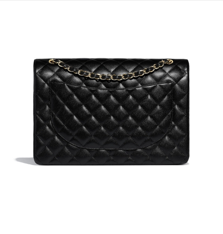 CHANEL MAXI CLASSIC HANDBAG - Boss Ladies