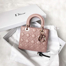 Load image into Gallery viewer, DIOR MINI LADY LAMBSKIN BAG