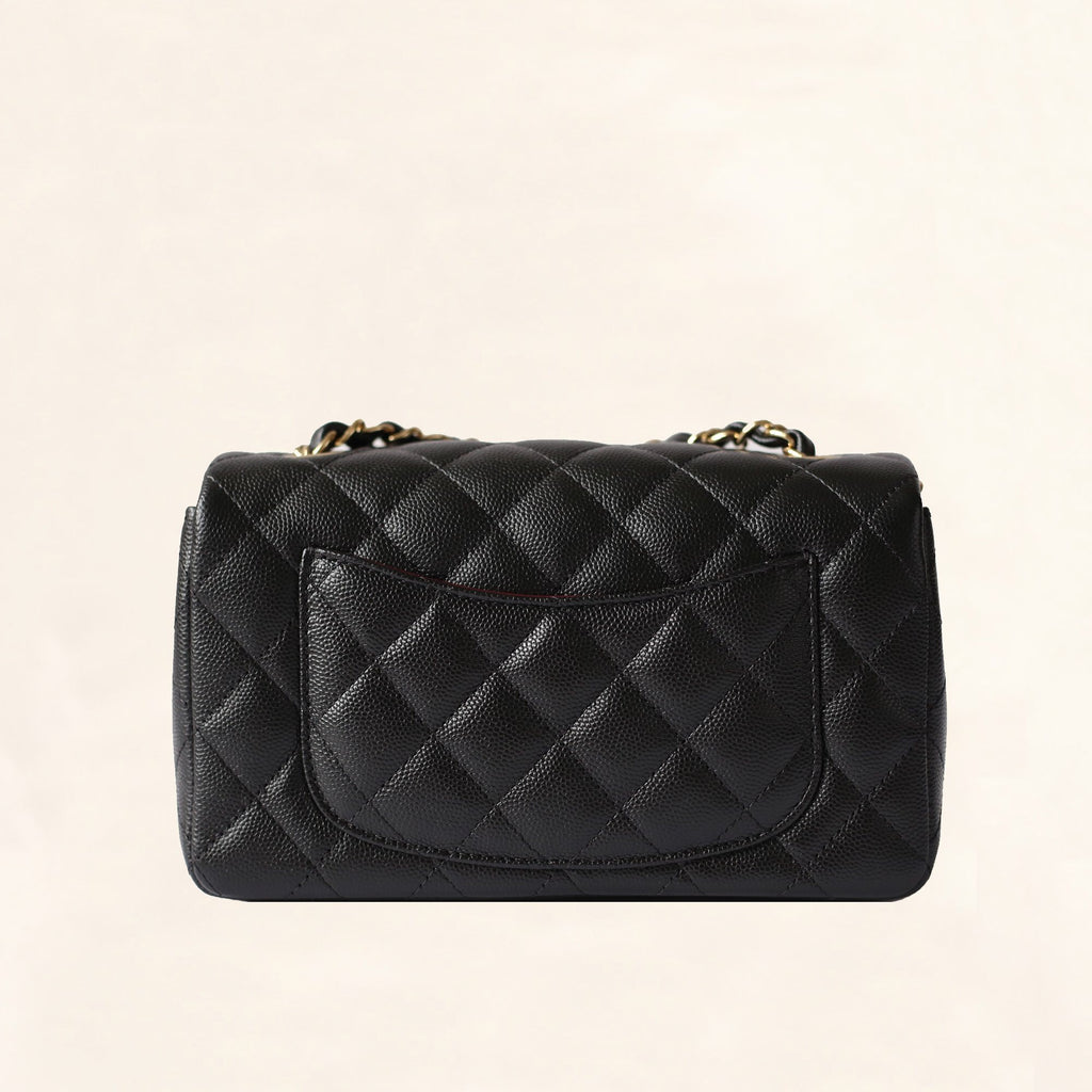 CHANEL CAVIAR MINI RECTANGULAR FLAP BAG - Boss Ladies