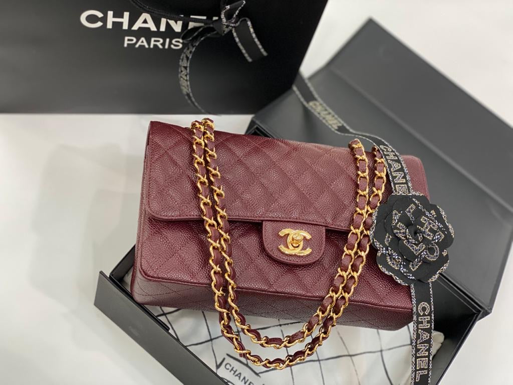 PRE-OWNED CHANEL CLASSIC HANDBAG - Boss Ladies
