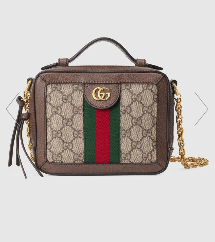 GUCCI OPHIDIA GG MINI SHOULDER BAG