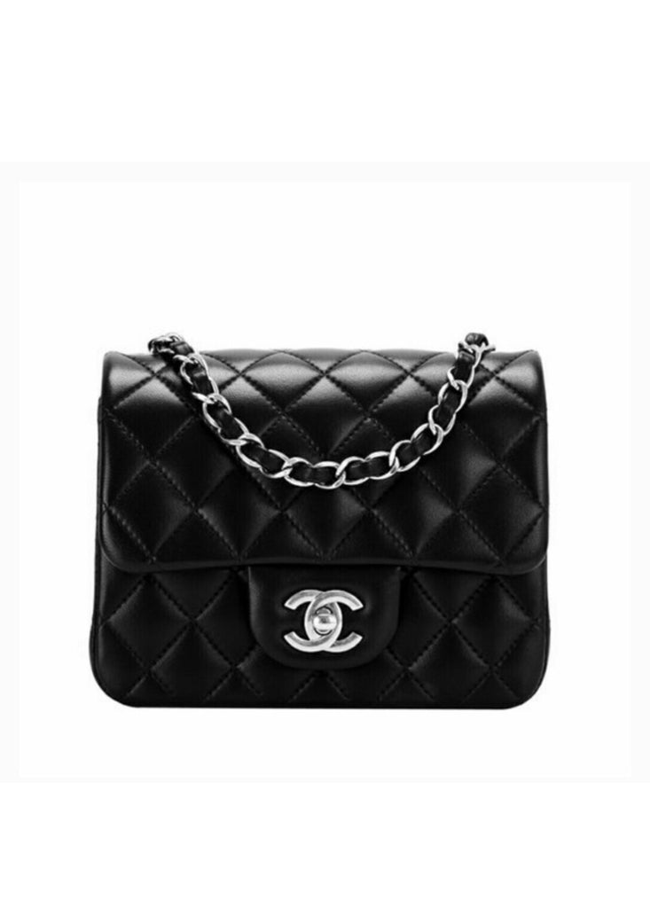 CHANEL SQUARE CLASSIC MINI FLAP - Boss Ladies
