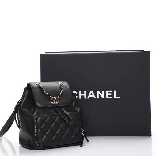 CHANEL GRAINED CALFSKIN BACKPACK - Boss Ladies