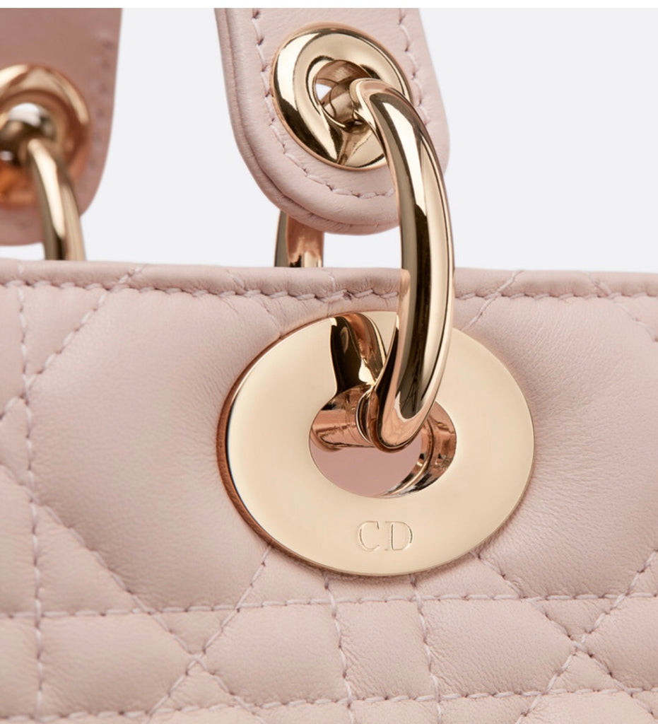 DIOR LADY LAMBSKIN BAG - Boss Ladies