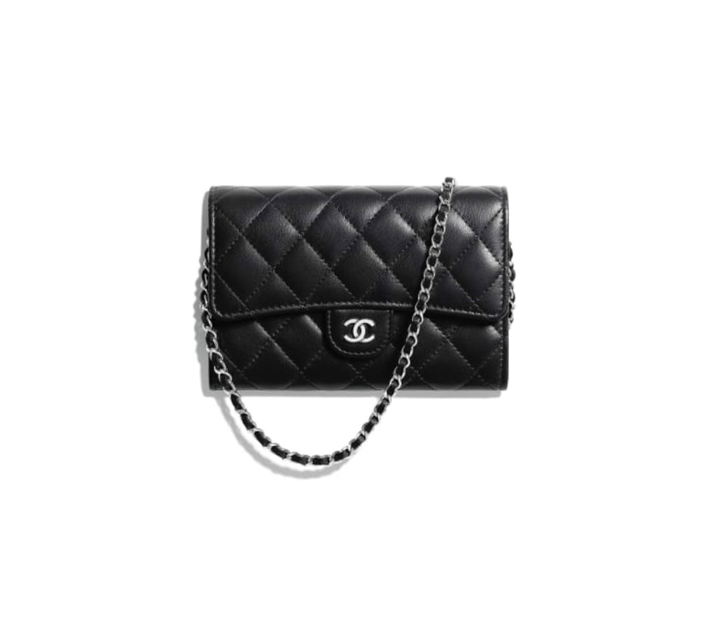 CHANEL CLASSIC CLUTCH WITH CHAIN - Boss Ladies