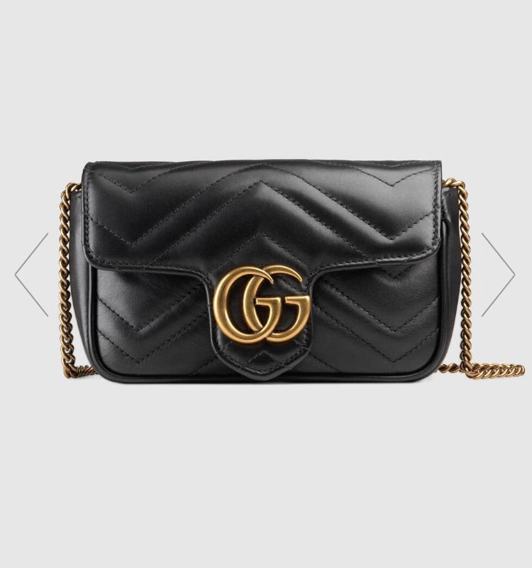 GUCCI GG MARMONT SUPER MINI