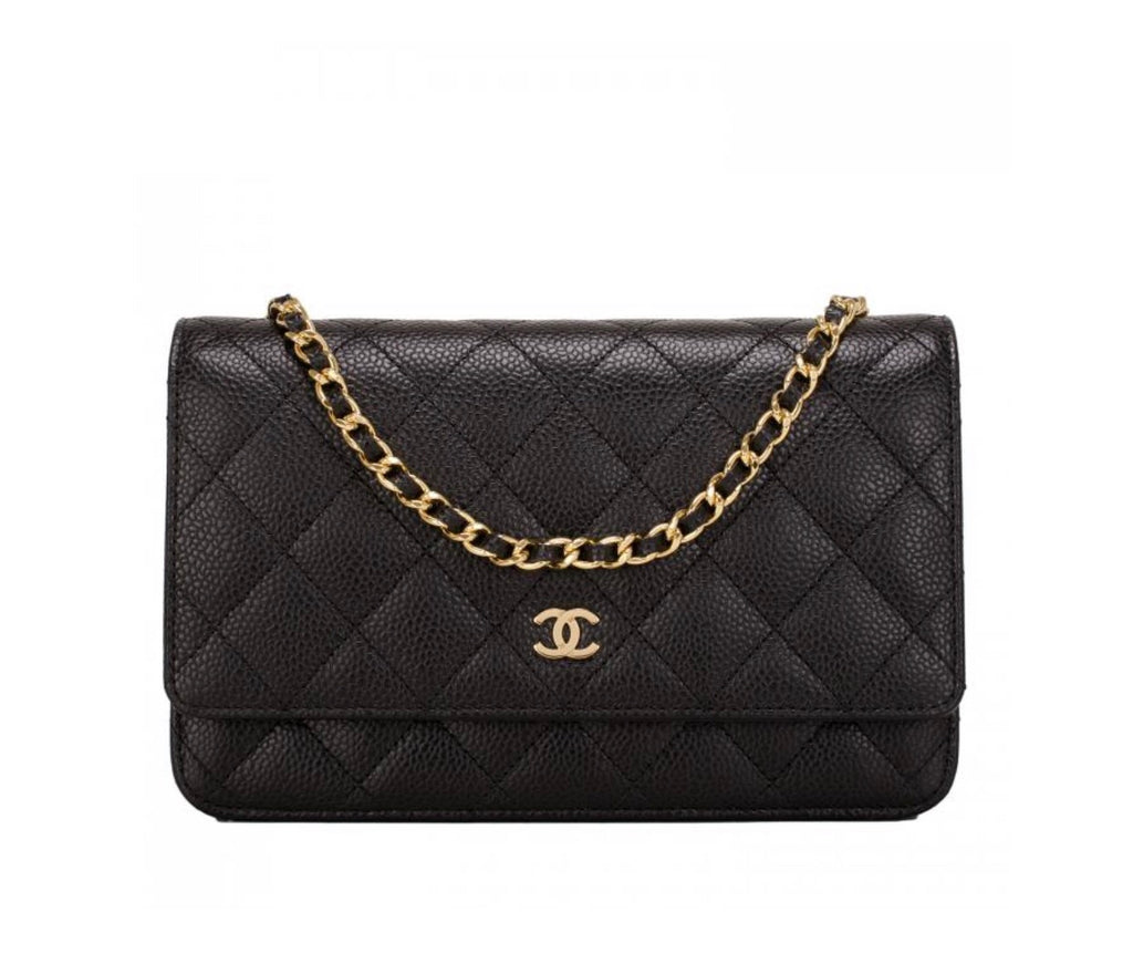 CLASSIC WALLET ON CHANEL GOLD CHAIN - Boss Ladies