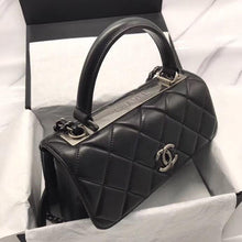 Load image into Gallery viewer, CHANEL SMALL FLAP BAG WITH TOP HANDLE