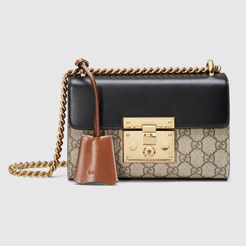 GUCCI PADLOCK SMALL GG SHOULDER BAG - Boss Ladies