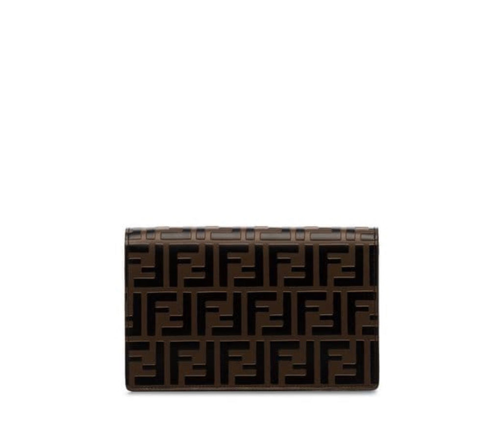 FENDI FF LOGO ENVELOPE SHOULDER BAG - Boss Ladies