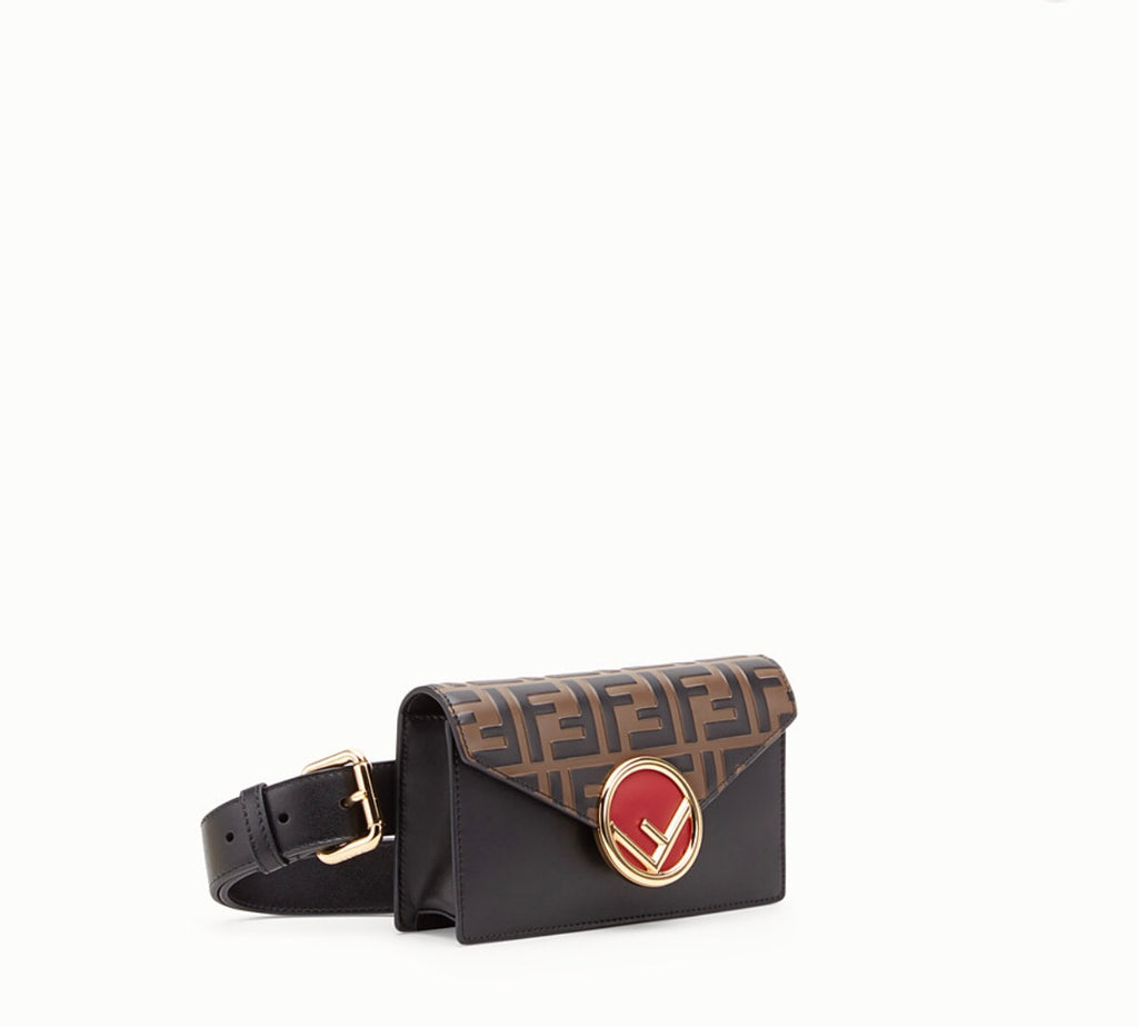 FENDI MULTICOLOUR LEATHER BELT BAG - Boss Ladies