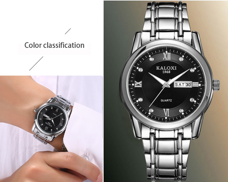 Luxury Men's Watch 30m Waterproof Date Clock Male Quartz Watches
