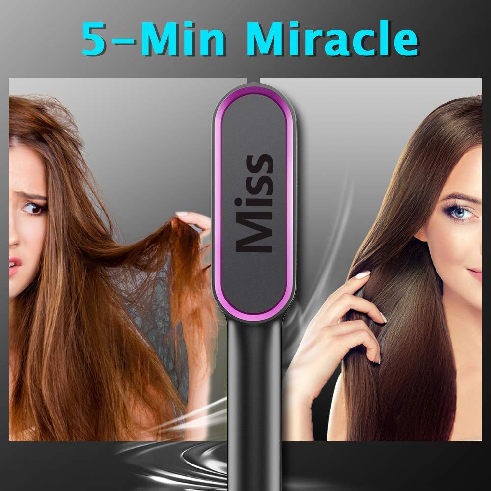 Last Day Promotion - MISS™ Hair Straightener Brush