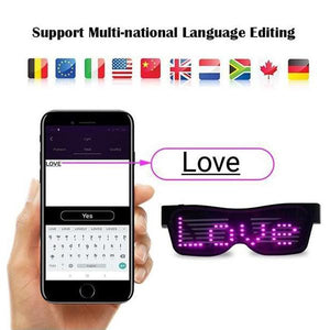 Last day promotion!--2019 LED Glowing Glasses Party