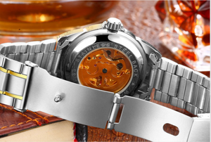 sell at a low price-Golden luxury waterproof fashion watch