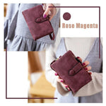 Soft matte leather women's Tri-Fold Wallet -【BUY 2 GET FREE SHIPPING!!】