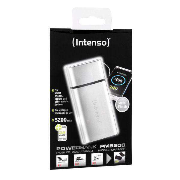 Power Bank INTENSO AATBPT0138 5200 mAh Zilver