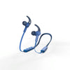 Hama Bluetooth®-koptelefoon Nekband In-ear Micro Ear-hook Blauw
