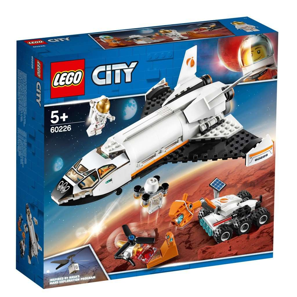 Lego City 60226 Space Mars Research Shuttle