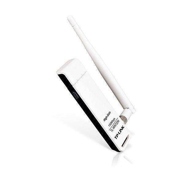 TP-LINK WN722N adapter High Gain 1T1R 4dBi 150N USB