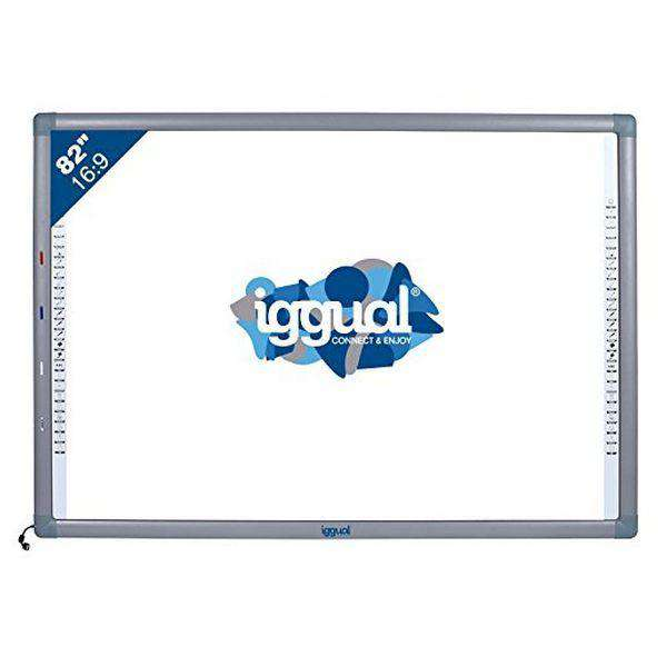 Interactive Whiteboard iggual IGG314388 82'''' 16:9 Infrarood