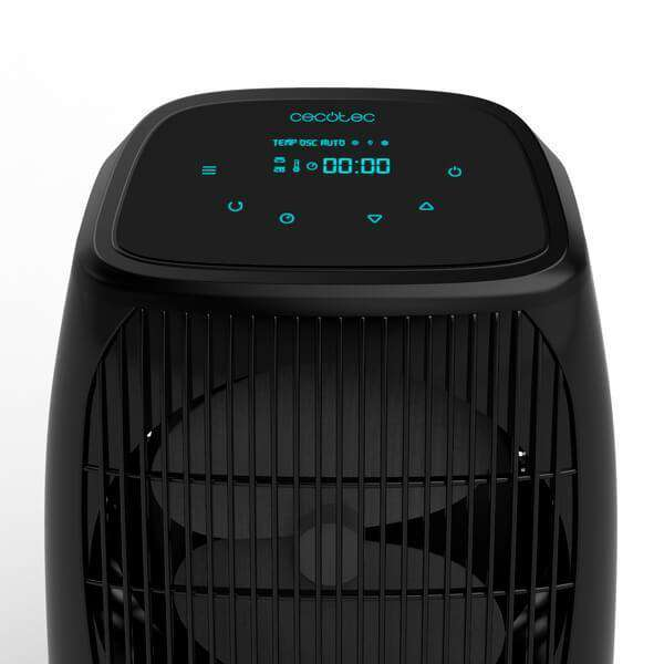Draagbare ventilatorkachel Cecotec Ready Warm 9600 Smart Force 2000W Zwart