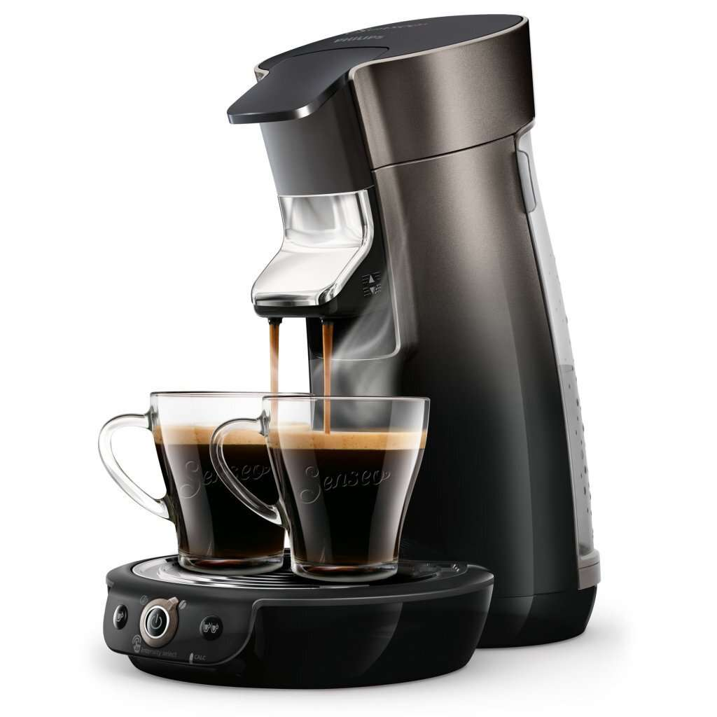 Philips HD6566/50 Senseo Viva Café Duo Select Koffiepadmachine Zwart