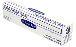 BRIEMARPAK 70% Isopropyl Alcohol Swab 200x Piece medical grade