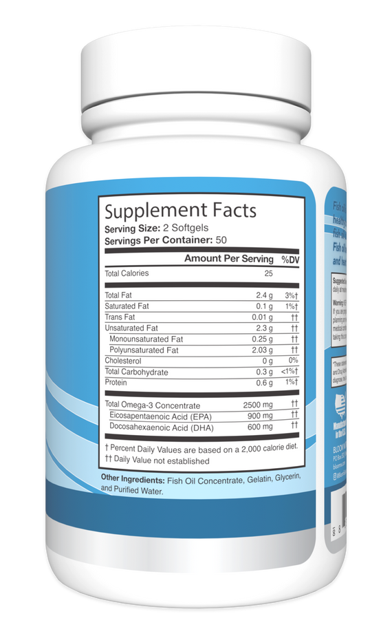 Fish Oil Fish Oil Supplement Facts