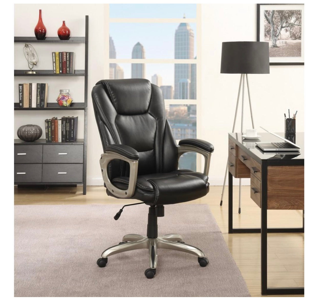 Office Chair Big And Tall Adjustable Leather