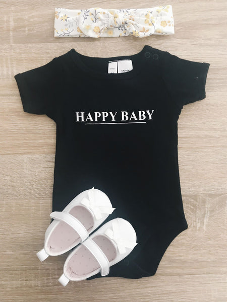 Happy Baby - Black