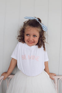 Be Mine Toddler Tee - White