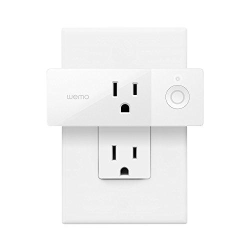 Wemo Mini Smart Plug, Wi-Fi Enabled, Works with Alexa and Google Assistant - Augment Hub