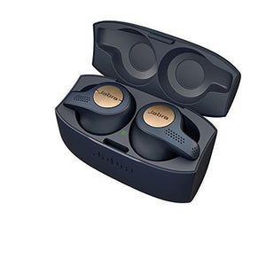 Jabra Elite Active 65t Alexa Enabled True Wireless Sports Earbuds with Charging Case  – Copper Blue - Augment Hub