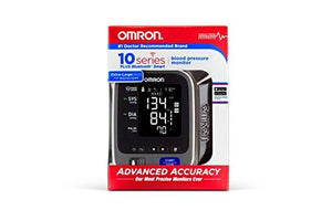 Omron 10 Series Wireless Bluetooth Upper Arm Blood Pressure Monitor with Two User Mode (200 Reading Memory) - Compatible with Alexa - Augment Hub