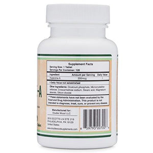 Huperzine A 200mcg (Third Party Tested) Made in the USA, 120 Tablets by Double Wood Supplements (L-Huperzine A) - Augment Hub