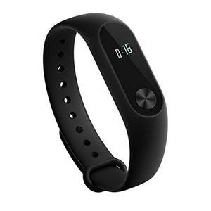 Mi Fitness Tracker, Xiaomi Band 2 Bluetooth 4.2 Smart Heart Rate Monitor IP67 Water-Resistant Wristband Watch With OLED Display Wearable Pedometer Activity Tracker for iPhone, Android phones - Black - Augment Hub