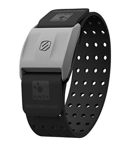 Scosche RHYTHM+ Heart Rate Monitor with Armband, Black - Augment Hub