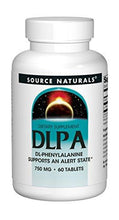 Source Naturals DLPA DL-Phenylalanine 750mg - 60 Tablets - Augment Hub